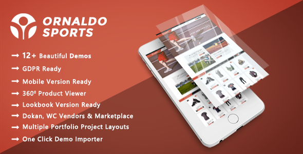 Ornaldo - Sports, Gym & Fitness WooCommerce WordPress Theme - WooCommerce eCommerce