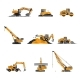 Heavy Construction Equipment - GraphicRiver Item for Sale