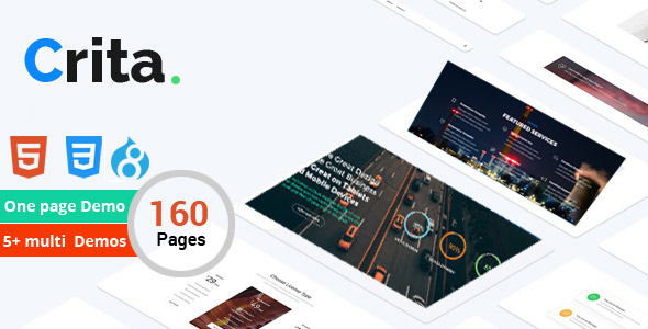 Crita | The Responsive Multi-Purpose Drupal 8 Theme - Creative Drupal