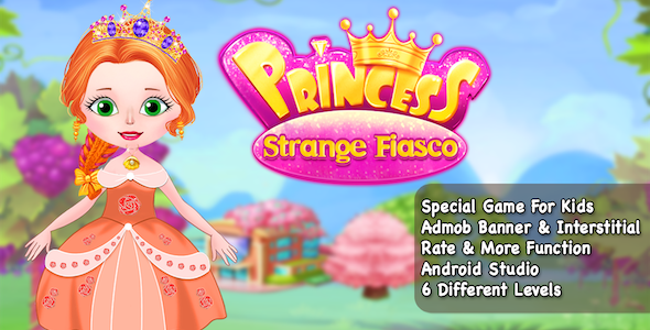 Best Casual Game + Princess Strange + Ready For Publish + Android - CodeCanyon Item for Sale