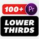 Lower Thirds Pack | MOGRT
