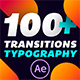 Transitions & Typography Library - VideoHive Item for Sale