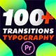 Transitions & Typography Library
