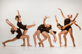 The group of modern ballet dancers - PhotoDune Item for Sale