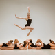 The group of modern ballet dancers - PhotoDune Item for Sale