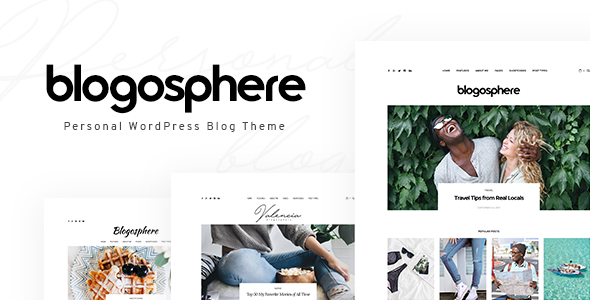 Blogosphere - Multipurpose Blogging Theme - Blog / Magazine WordPress