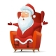 Santa Claus Cartoon Vector Illustration - GraphicRiver Item for Sale
