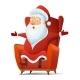 Santa Claus Cartoon Vector Illustration - GraphicRiver Item for Sale