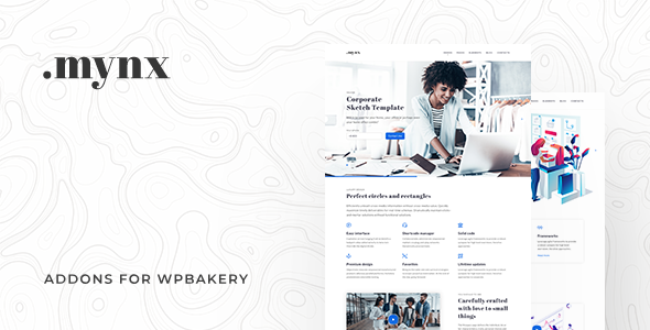 Mynx Addons for WPBakery Page Builder - CodeCanyon Item for Sale