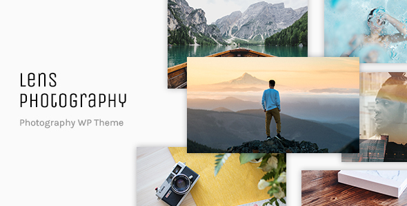 Lens Photography - Photography Portfolio WordPress Theme - Photography Creative