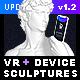 VR + Device Sculptures Mock-Up - GraphicRiver Item for Sale