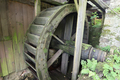 Old big water wheel of the historic mill saw - PhotoDune Item for Sale