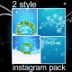 Instagram 2-in-One Christmas Pack - VideoHive Item for Sale