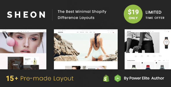 Sheon - Sectioned Multipurpose Shopify Theme - Shopping Shopify