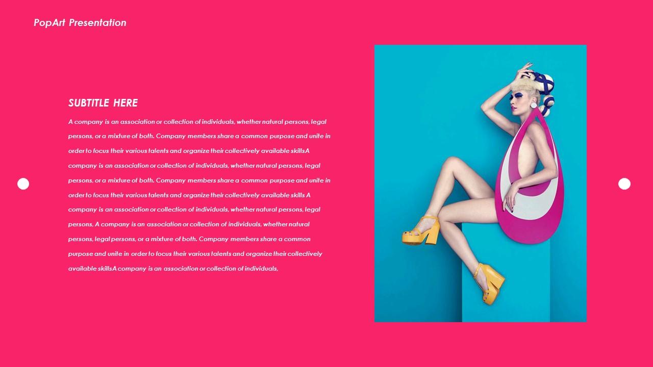 Pop Art Creative PowerPoint Templates