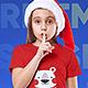 Christmas Kids Girl T-Shirt Mockups. Vol 2 - GraphicRiver Item for Sale