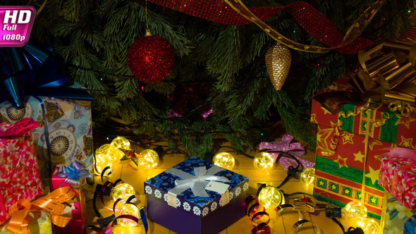 Wonderful Gifts Under The Christmas Tree by Saracin | VideoHive