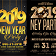 New Year Party Flyer Bundle Templates - GraphicRiver Item for Sale