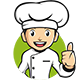 Chef Cartoon Mascot Vector - GraphicRiver Item for Sale