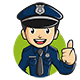 Police Cartoon Mascot Vector - GraphicRiver Item for Sale