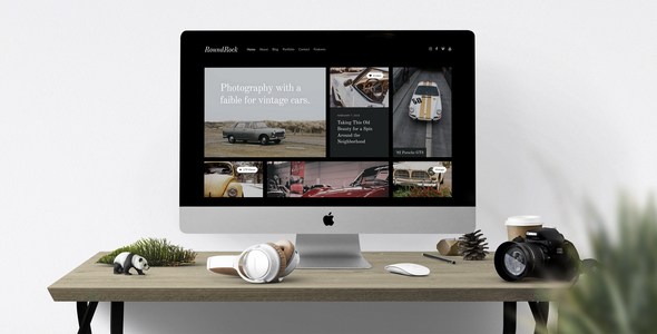 RoundRock – Photography Portfolio & Blog HTML5 Template - Photography Creative