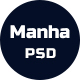 Manha - Creative Business PSD Template - ThemeForest Item for Sale