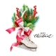 Vector Realistic Merry Christmas Spruce Tree Skate - GraphicRiver Item for Sale