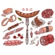 Meat Food - GraphicRiver Item for Sale