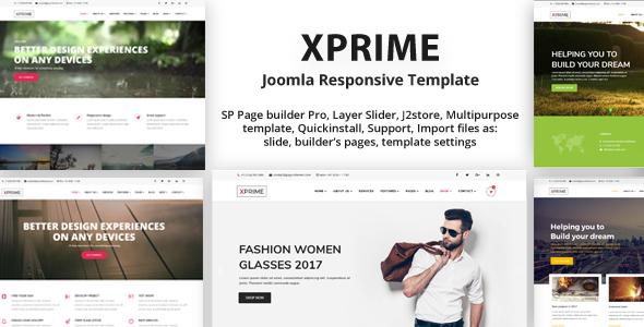 XPRIME - Creative Joomla Multipurpose Template | Medical Marijuana Dispensary - Joomla CMS Themes