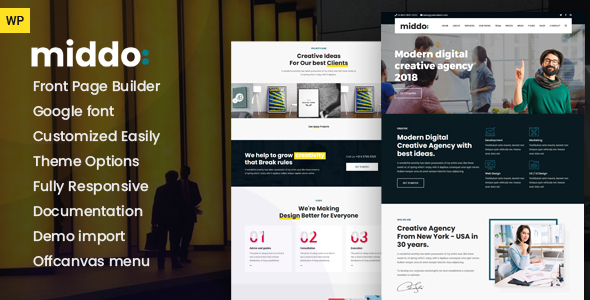 Middo - Modern & Clean WordPress Theme