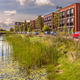 Urban street with ecological river bank - PhotoDune Item for Sale