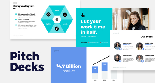 Investor pitch deck templates