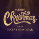 Merry Christmas Text Animation (Golden Sand) - VideoHive Item for Sale