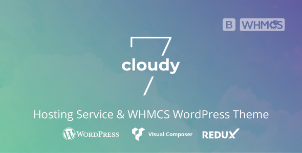 Cloudy 7 - Hosting Service & WHMCS WordPress Theme
