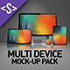 Multi Device Responsive Mock-Up Pack 4in1 - GraphicRiver Item for Sale