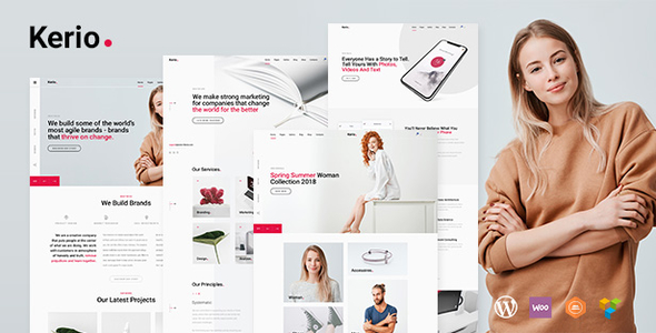 Kerio | A Creative Multi-Purpose WordPress Theme