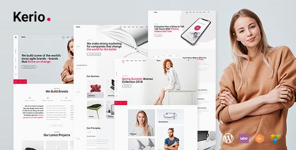 Kerio | A Creative MultiPurpose WordPress for MultiPurpose