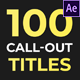 100 Call Out Titles - VideoHive Item for Sale