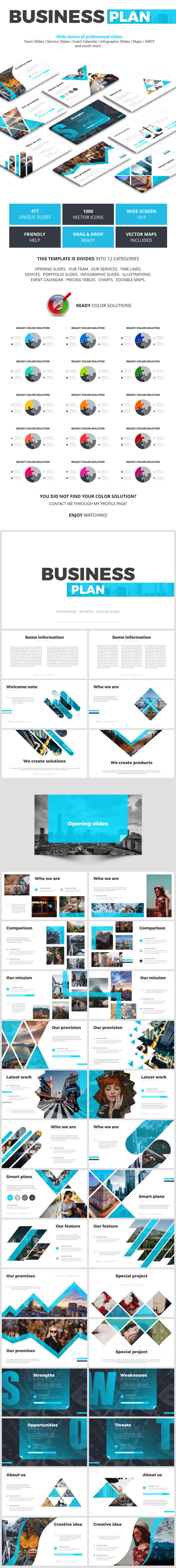 Business Plan - Business Keynote Templates
