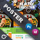 Healthy Food Poster Templates - GraphicRiver Item for Sale
