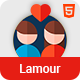 Lamour - Dating Website HTML5 Template - ThemeForest Item for Sale