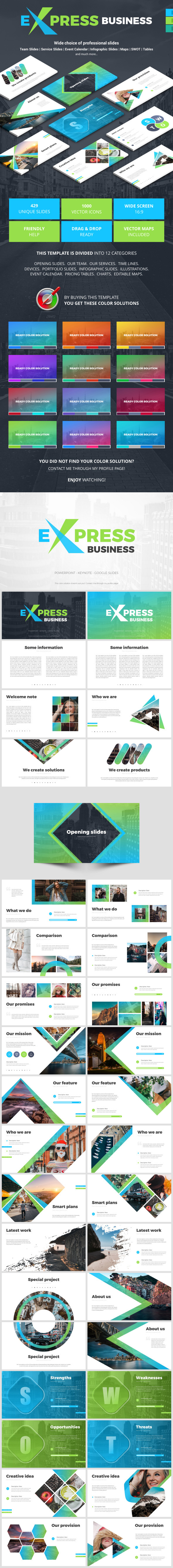 Business Express - Business Keynote Templates