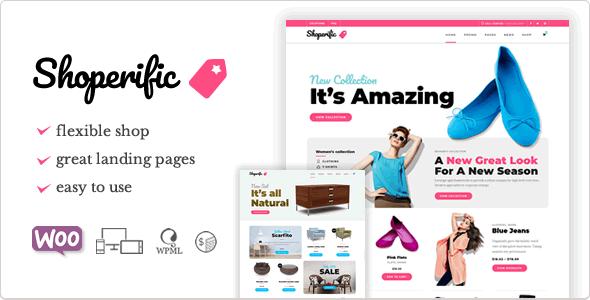 Shoperific - Flexible WooCommerce Shop - WooCommerce eCommerce