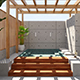Pool Courtyard Corona Scene - 3DOcean Item for Sale