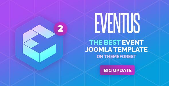 Eventus - Responsive Event Joomla Template - Events Entertainment