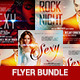 Ladies Night Flyer Template Bundle - GraphicRiver Item for Sale