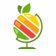 Fruit Globe Logo - GraphicRiver Item for Sale