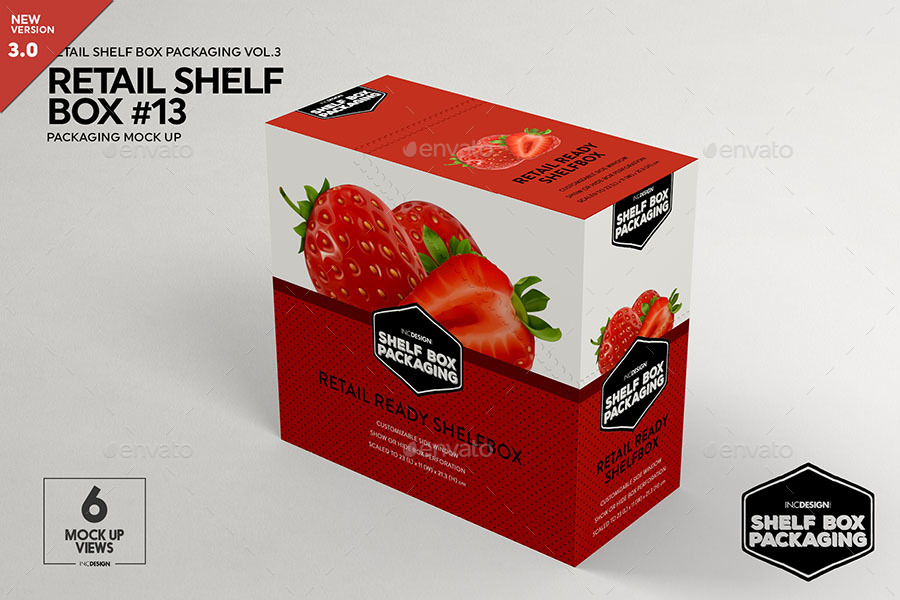 Retail Shelf Box Packaging Mockup No 13 By Incybautista Graphicriver