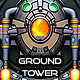 Space Shooter Sprites Ground Towers - GraphicRiver Item for Sale