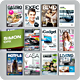 Magazine Covers Bundle Vol. 1-2-3 - GraphicRiver Item for Sale